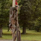 objekt - dřevo, travertín, Vyšné Ružbachy