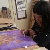 malba na hedvábí - jednodenní víkendový kurz